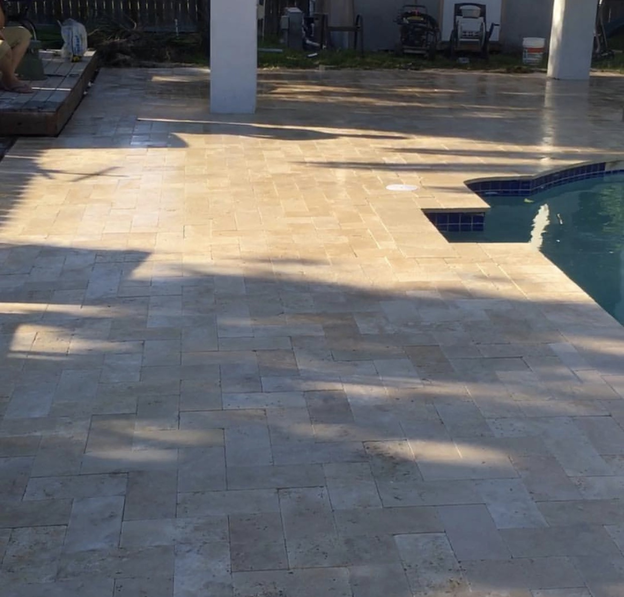 Las Vegas commercial Pool Patio Paving