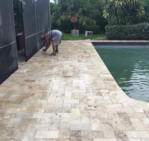 Las Vegas Custom Outdoor Kitchen Paving